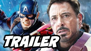 Captain America Civil War Superbowl Trailer Breakdown