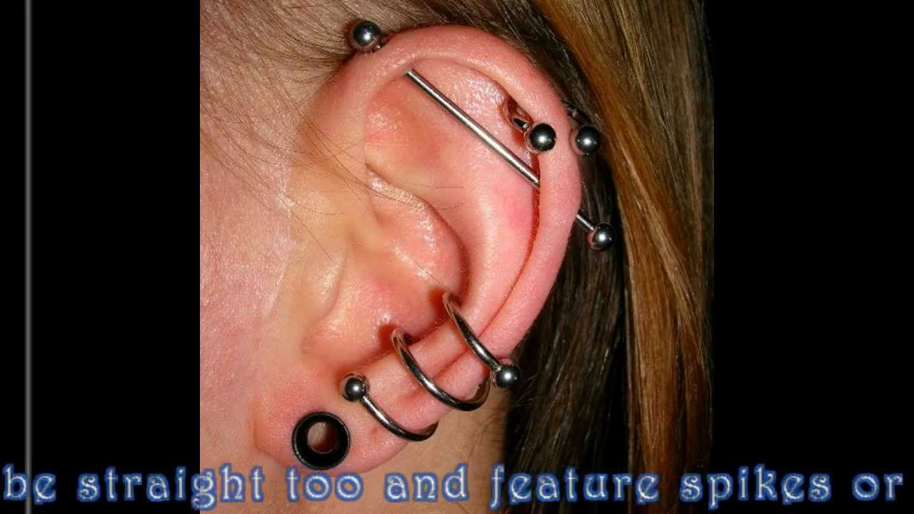 Types Of Earrings For Cartilage