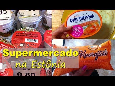 Supermercado na Estônia
