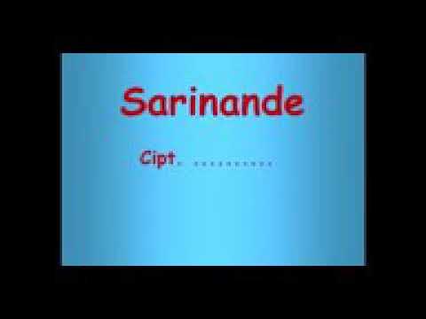 Lagu Sarinande