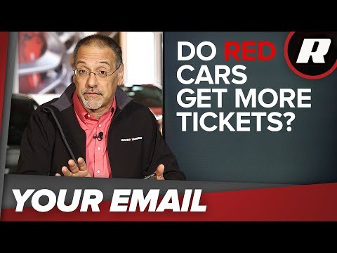 Your Email: Do red cars get more tickets? You'll be surprised