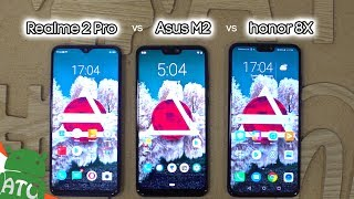 Realme 2 Pro vs honor 8X vs Asus Zenfone Maxpro M2 Comparison Review | ATC