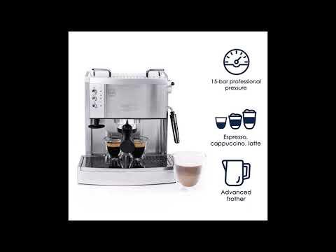Delonghi EC702 Review - 15-Bar-Pump Espresso Maker