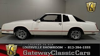1987 Chevrolet Monte Carlo SS Aero Coupe - Louisville Showroom Stock # 854