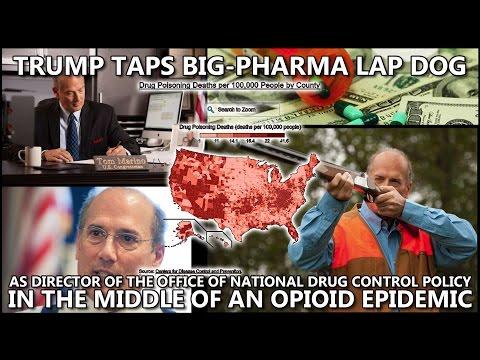 Trump Taps Big-Pharma Lap Dog for Drug Policy Head
