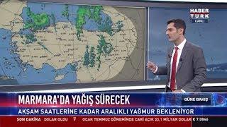 Marmara'da yağış sürecek