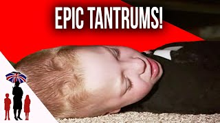 Dad Struggles With Sons Epic Tantrums After Wife Dies | Supernanny USA