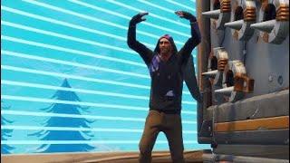 New Fortnite MONIKER Skin 15 kill Gameplay