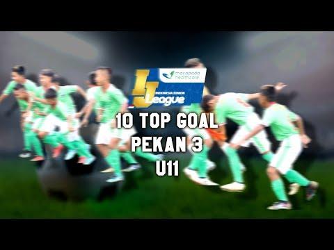 Top 10 Goal Indonesia Junior Mayapada League pekan ke-3 [U11] 25-2-2018