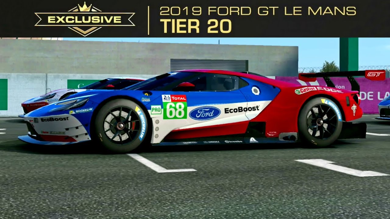 Real Racing 3 Exclusive Series Ford Gt Le Mans 2019 Completed Youtube