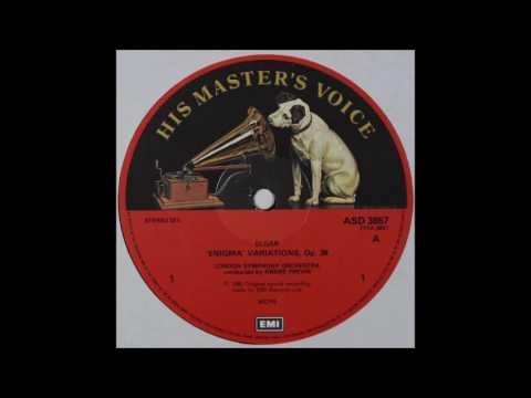 Elgar, Enigma Variation , Andre Previn