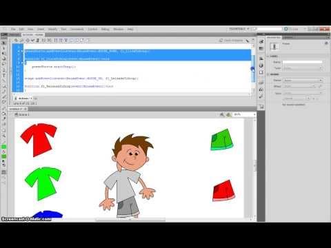Creating a Drag & Drop Game in Adobe Flash