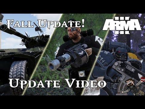 ARMA 3 - Warhammer 40k Mod (Update Video) Fall Update!