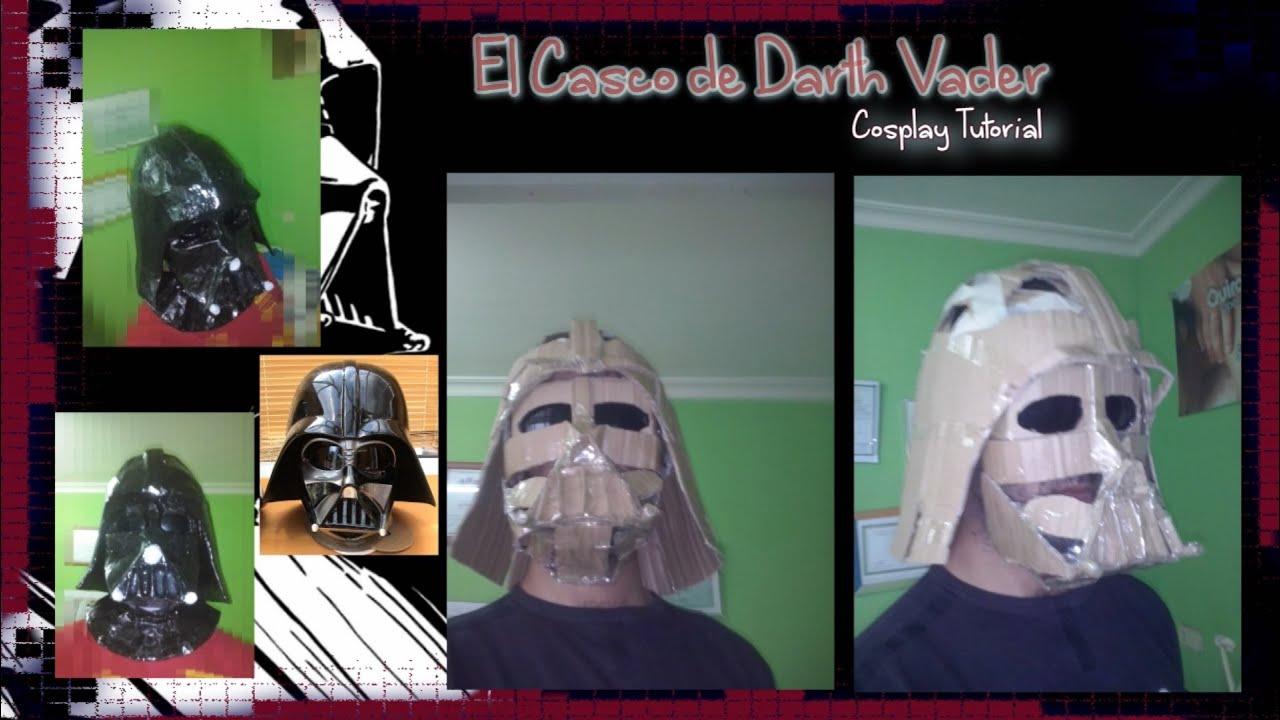 Cosplay Tutorial - Darth Vader Helmet (el casco y la máscara) V2 ...
