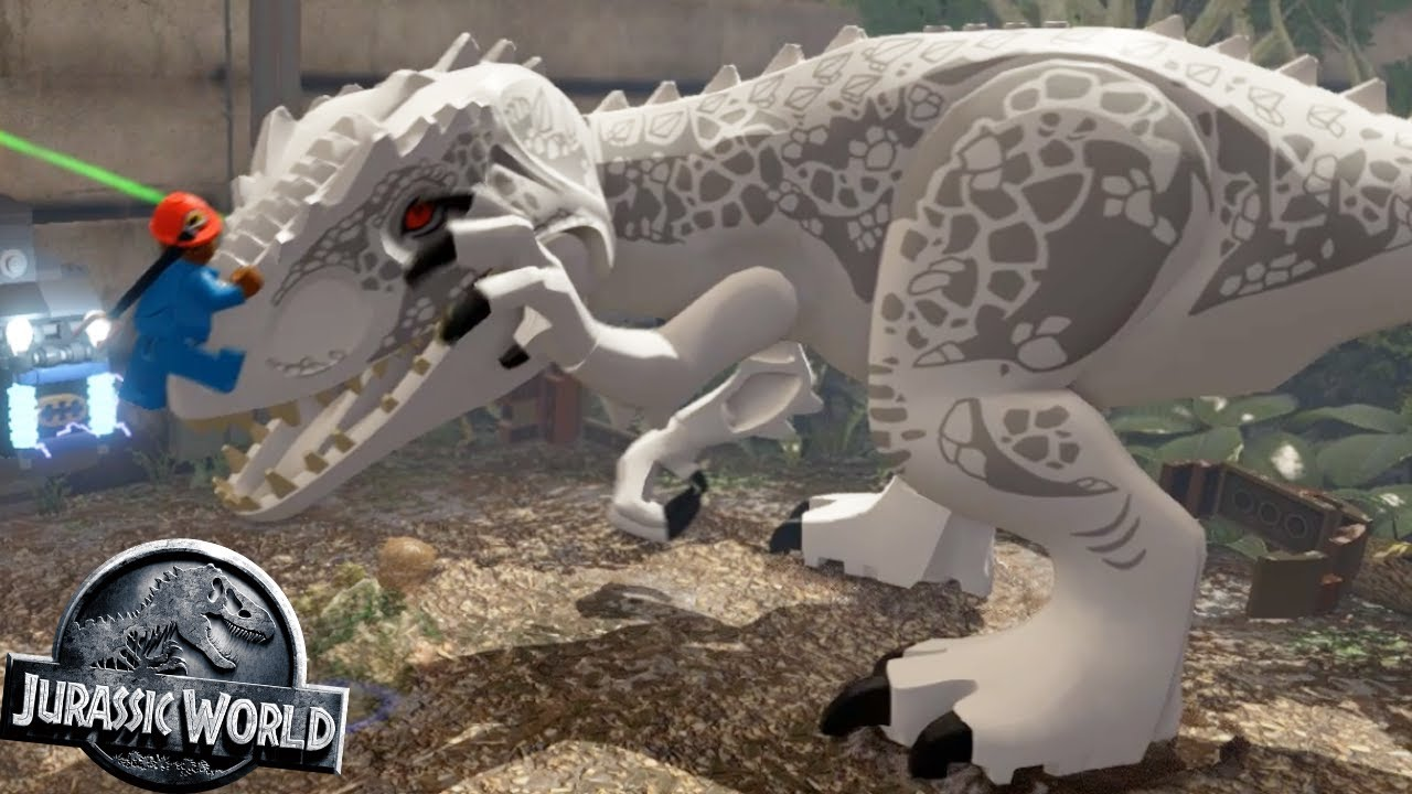 INDOMINUS REX ESCAPE - FREE PLAY #57 || LEGO Jurassic World
