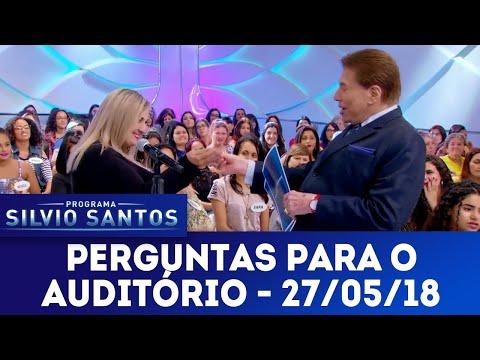 Perguntas para o auditório - Completo | Programa Silvio Santos (27/05/18)