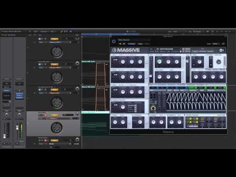 Future Bass Wobble Synth - NI Massive tutorial