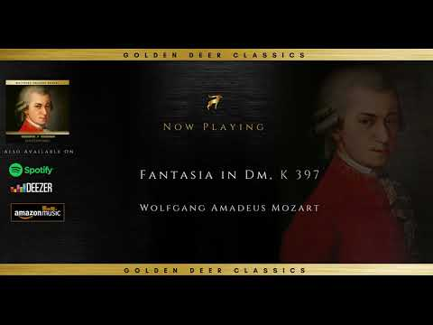 Wolfgang Amadeus Mozart - Fantasia in Dm, K 397 (Golden Deer Classics)