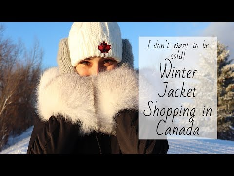 LETS GO WINTER JACKET SHOPPING IN CANADA | CANADIANKELSEY
