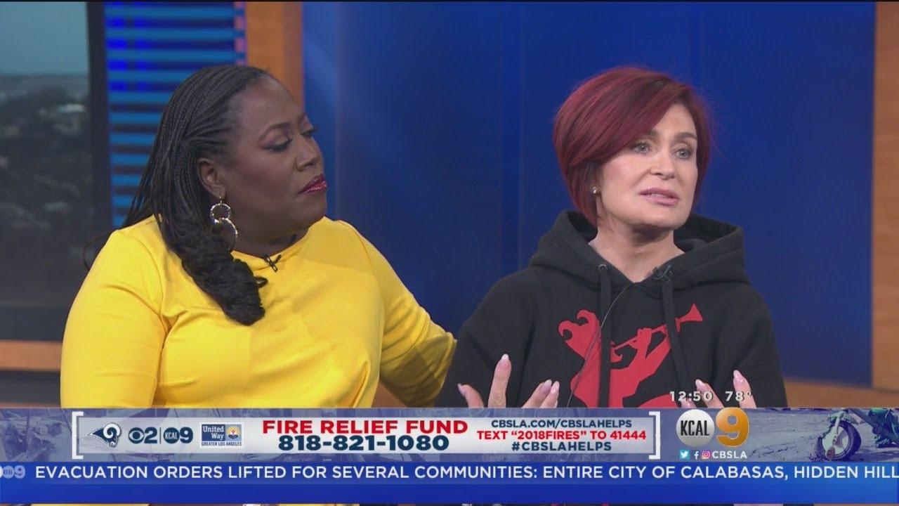 Fire Relief Fund Sharon Osbourne And Sheryl Underwood Youtube
