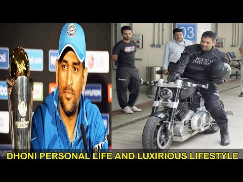 MS Dhoni Income-Houses-Cars-Bikes-Family and Lifestyle