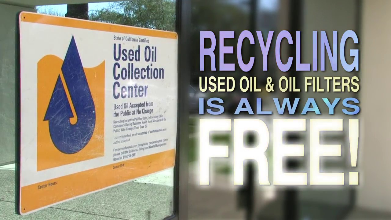 How to recycle used motor oil 30 seconds youtube for How to recycle used motor oil