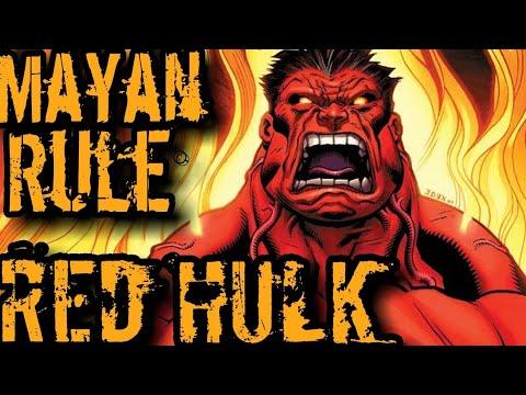 RED HULK vs Los Dioses Antiguos 🔥☣️🔥 Mayan Rule La Historia Completa del Cómic 🤘