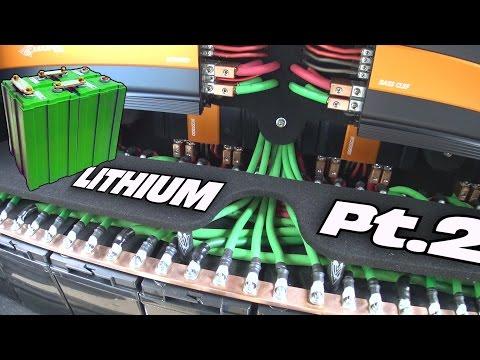 EXO's LITHIUM Battery Installation Pt2  | CUSTOM INSTALL w/ Two JY Power 12 Volt Car Audio Batteries
