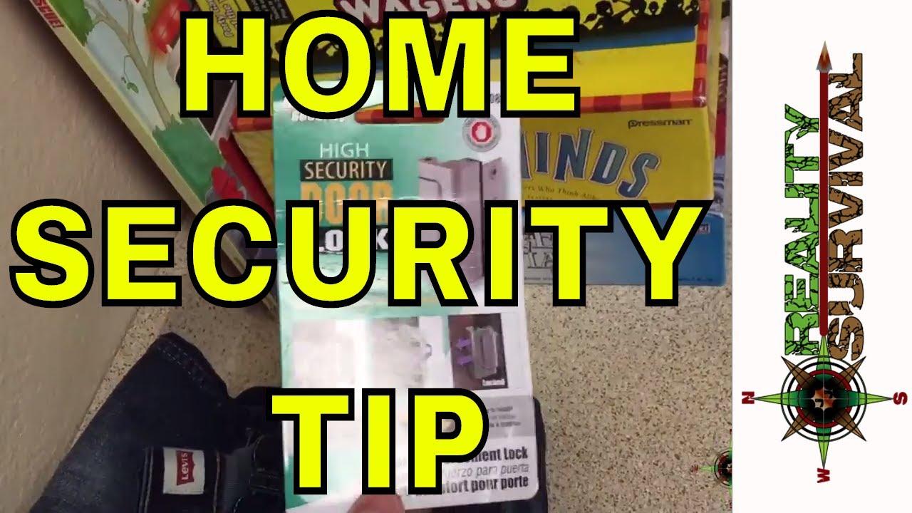 Home Security Tips - The Defender Security - High Security Door ...