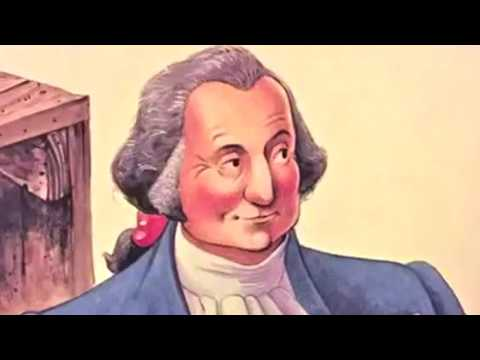 George Washington 4 story for Kids: Biography - meeting with the American President
