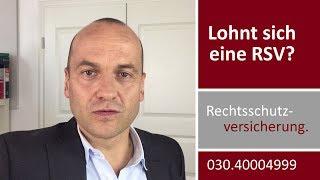 Rechtsschutzversicherung - lohnt sich das?   Rechtsanwalt Alexander Bredereck