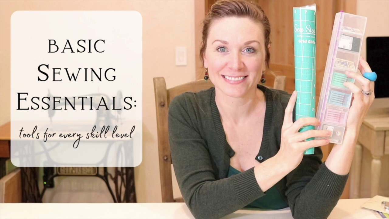 10 SEWING ESSENTIAL SUPPLIES YOU CAN'T LIVE WITHOUT | Beginner sewing tools | BASIC SEWING SUPPLIES