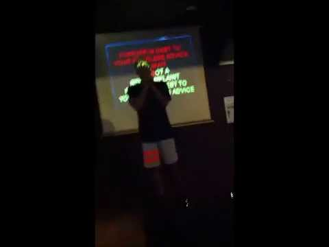 Karaoke @ Peninsula Sports Bar & Grill, Bali