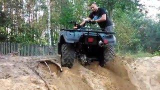 ATV Yamaha Big Bear 350 4x4 Off road wyciąganie quada GoPro(, 2014-09-07T16:33:30.000Z)