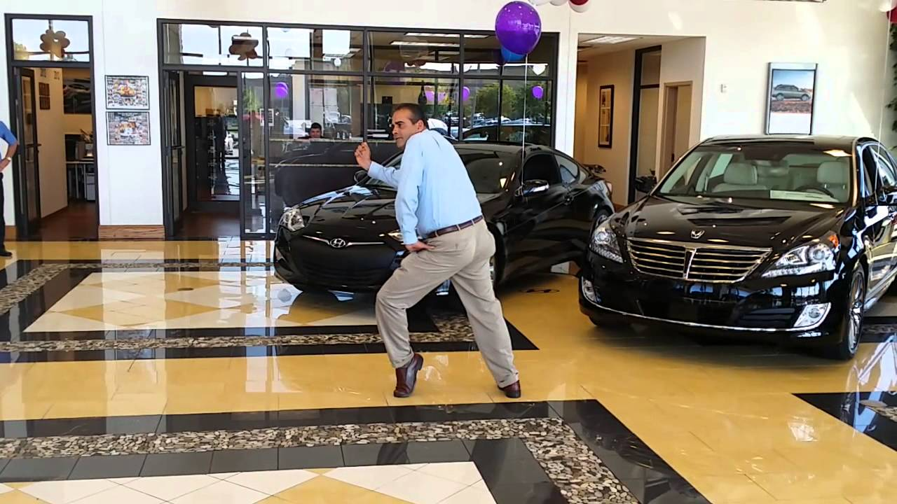 Not your AVERAGE JOE!! Dancing Car Salesman Joseph - YouTube