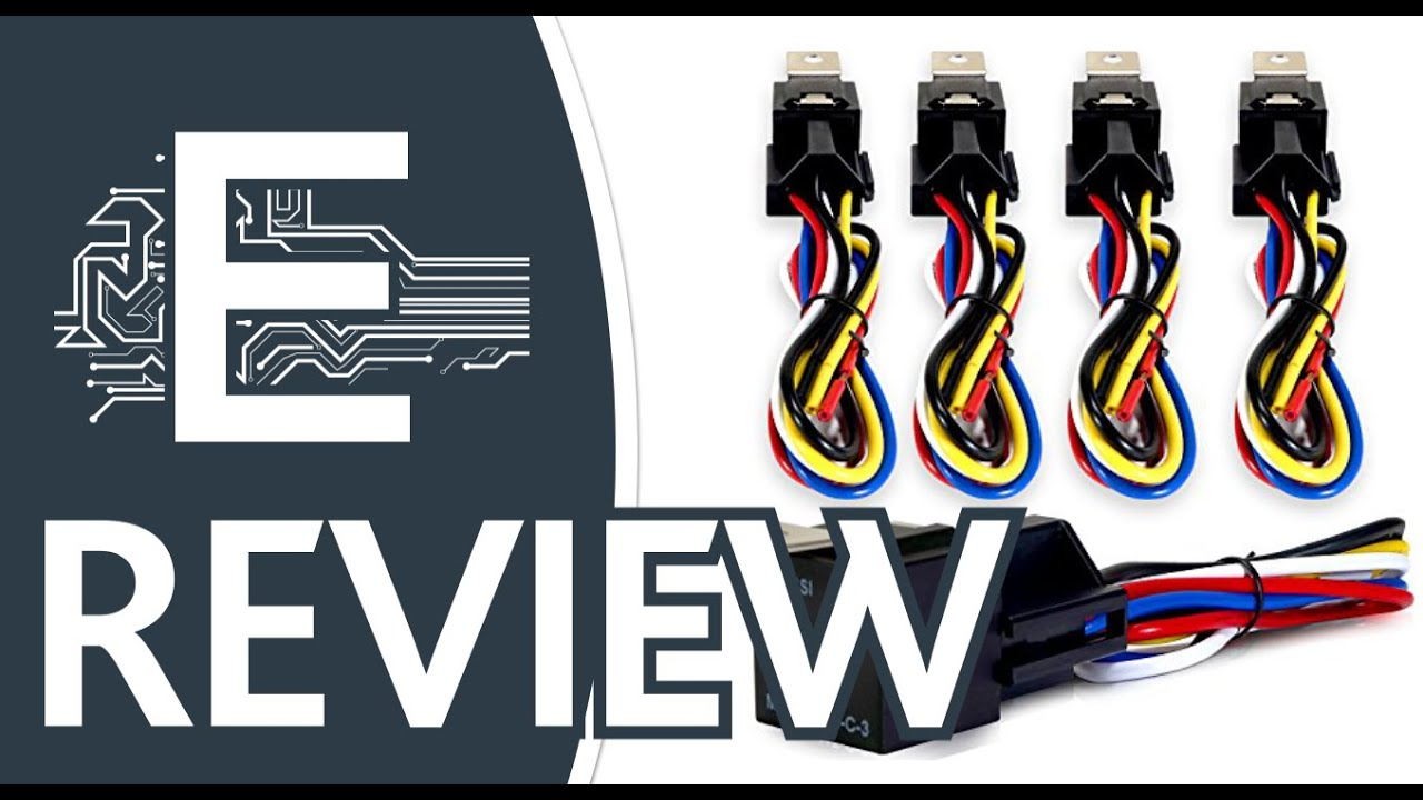Genssi 30/40 AMP Relay and Wire Harness Spdt 12V 4 Review on