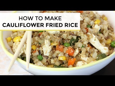 How many grams is 1 cup of riced cauliflower