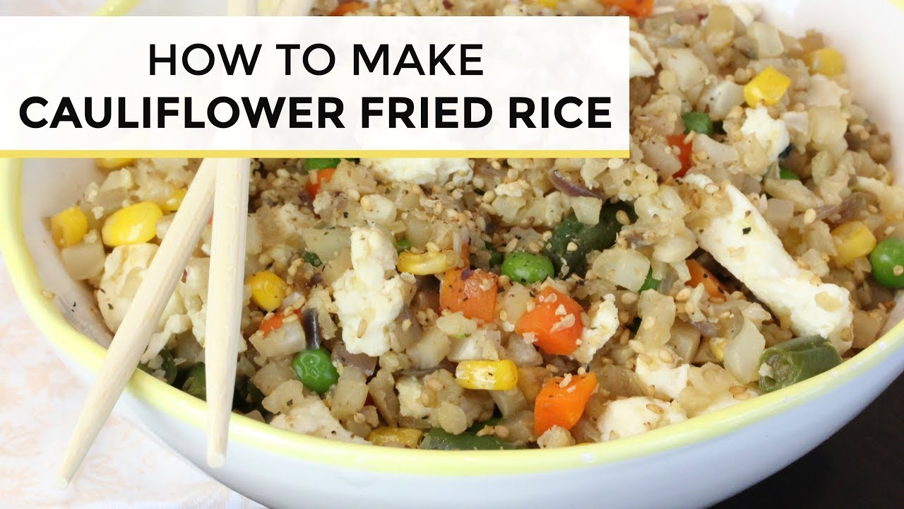 maxresdefault - How To Make Cauliflower Fried Rice | Cauliflower Fried Rice Recipe