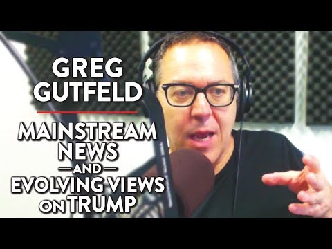 Greg Gutfeld on Issues with Mainstream News and Evolving Views on Trump (Pt. 2)