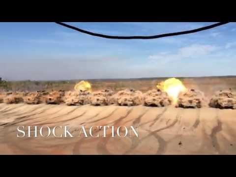 Australian M1A1 Abrams Tank