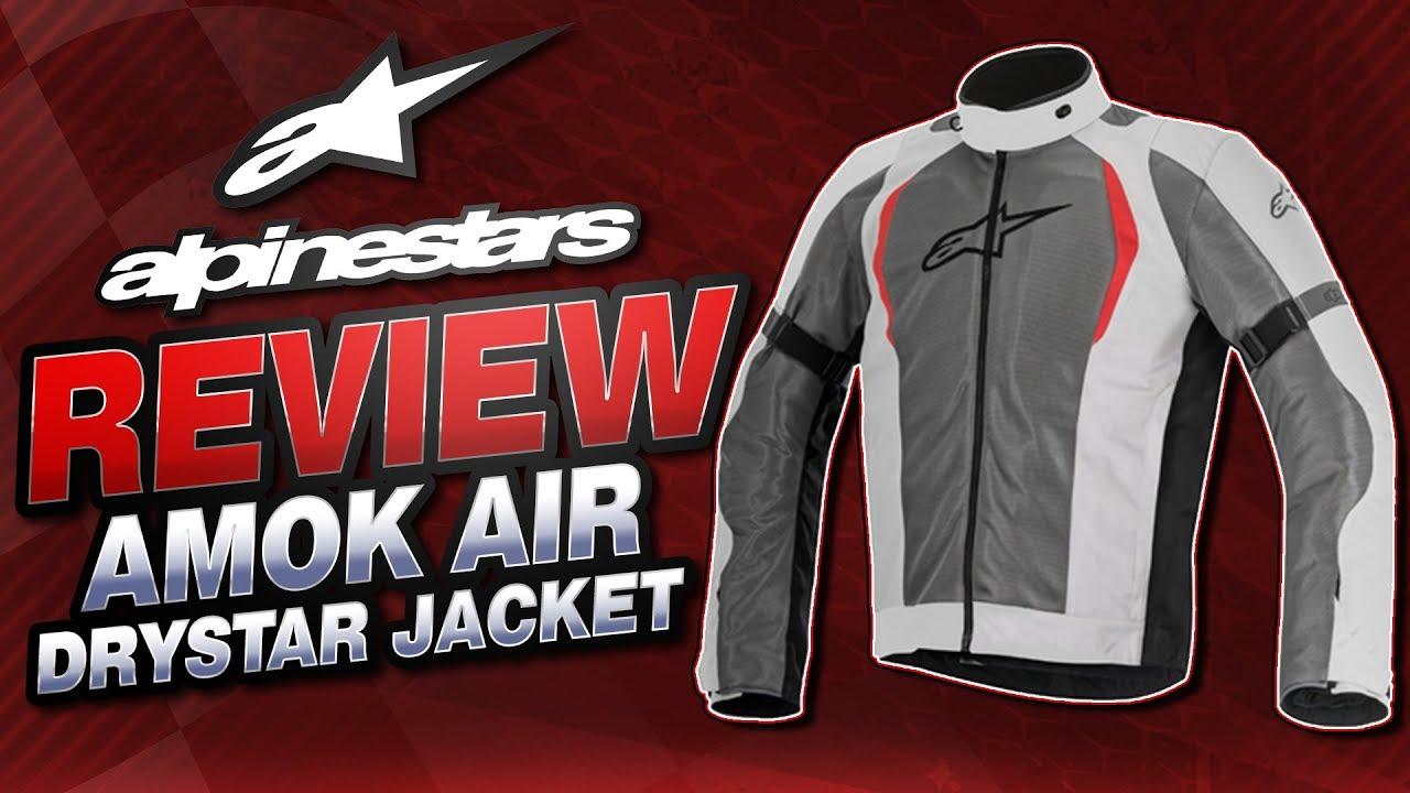 2016 Alpinestars Amok Air Drystar Jacket Review from Sportbiketrackgear.com