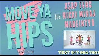 A$AP Ferg - Move Ya Hips feat. Nicki Minaj \u0026 MadeinTYO (REACTION)