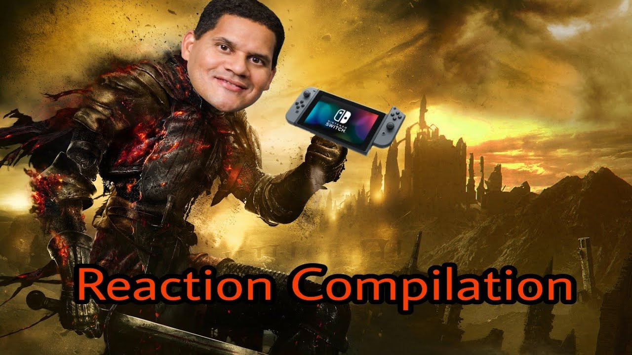 Nintendo Direct Mini - Dark Souls Remastered - Reaction Compilation