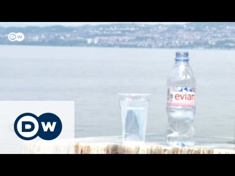World Famous Water In Evian, France | Euromaxx