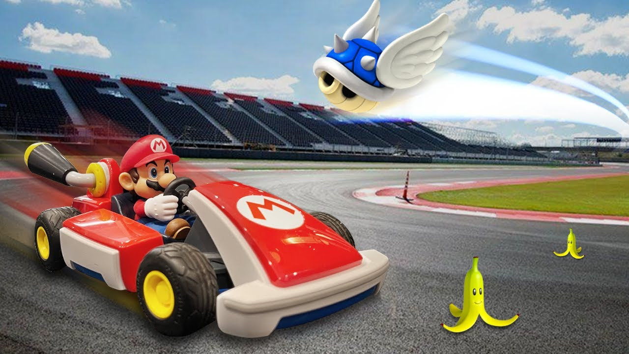I created Mario Kart in real life