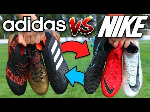 Ultimate adidas vs Nike Football Challenges! Who Wins?