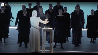 Extraits de der messias (haendel - mozart) mis en scène par robert wilson et dirigé marc minkowski à la tête des musiciens du louvre.au théâtre champ...