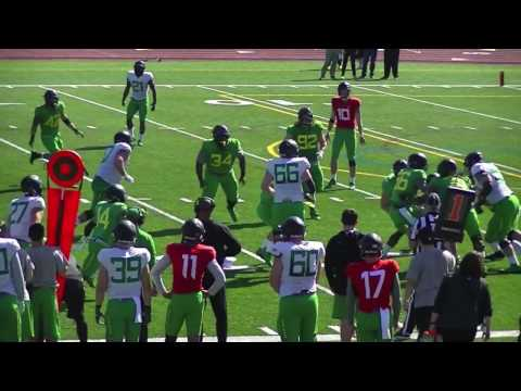 Oregon Ducks Football Spring Scrimmage (4-15-17) at Jesuit HS