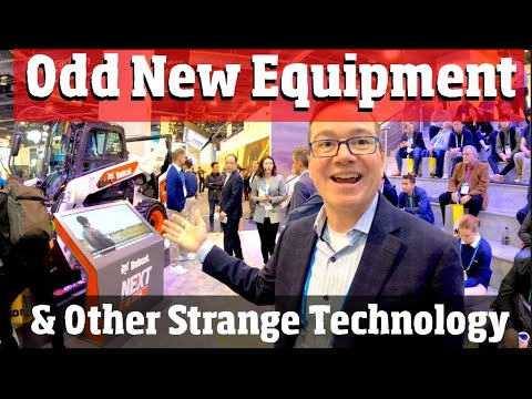 Weird New technology from the Consumer Electronic Show 4 k video