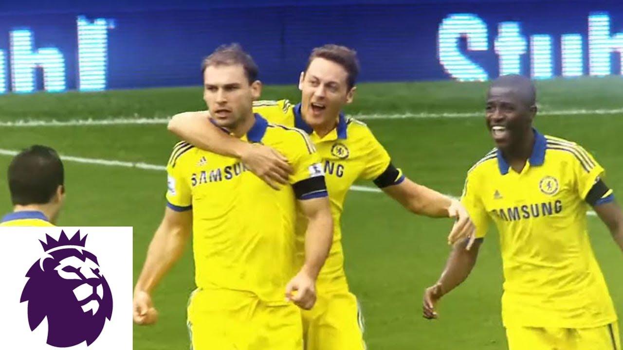 2014: Chelsea score six in win over Everton | Premier League | NBC Sports